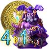 Игра Сокровища Монтесумы. 4 в 1