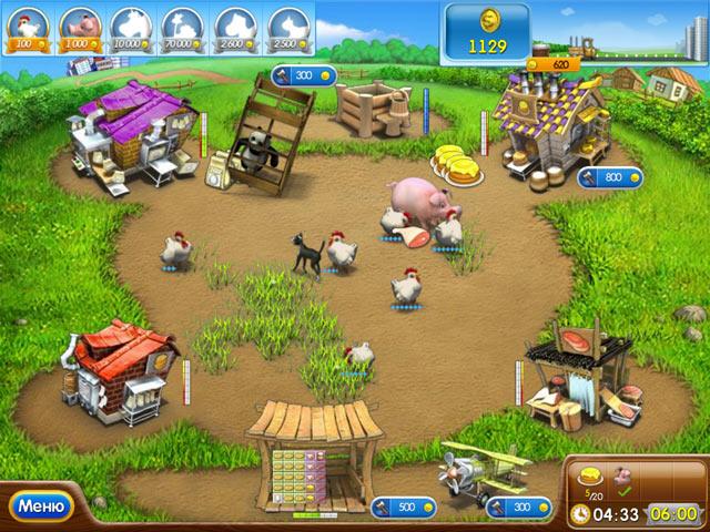 Игры про веселая ферма 6