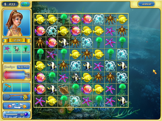 тропические рыбки игра скачать - фото 11