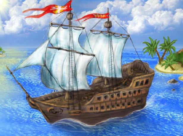 Флеш игра сокровища мистического моря онлайн