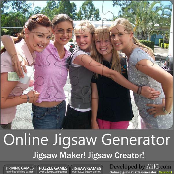 Онлайн генератор пазлов online jigsaw puzzle