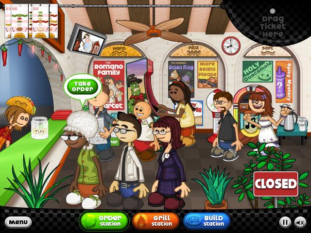 играть онлайн бесплатно в кафе гамбургеры