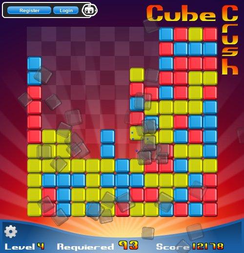 Изображение из игры Дави кубы