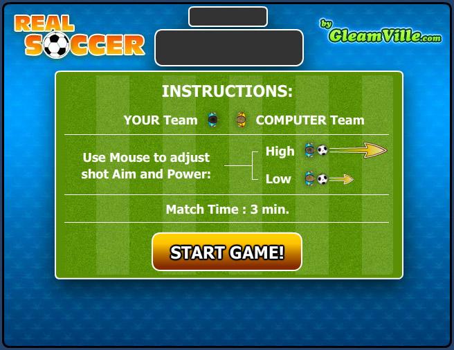 Изображение из игры Настоящий футбол
