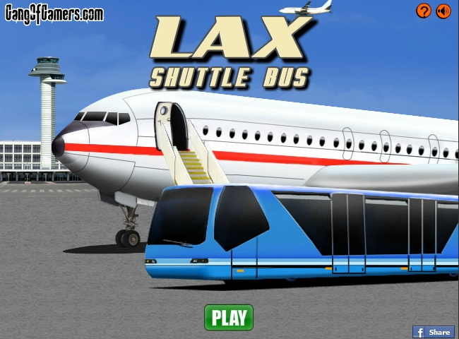 LAX Shuttle Bus Parking Games - Play Online Free