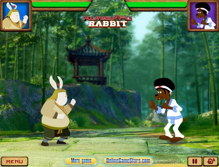 кролик кунфу игра скачать