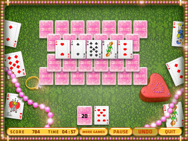 Изображение из игры Пасьянс: Свадьба королевы