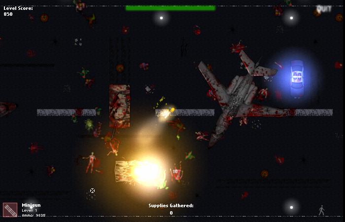 Изображение из игры Вспышка вируса зомби 2