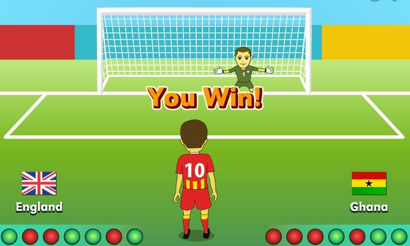 Изображение из игры Серия пенальти
