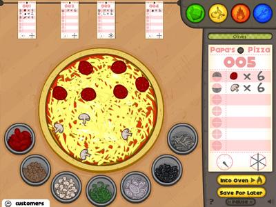 Играть онлайн ресторан папы луи