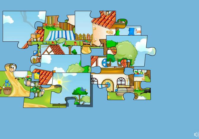 Изображение из игры Детский крупный пазл: Ферма