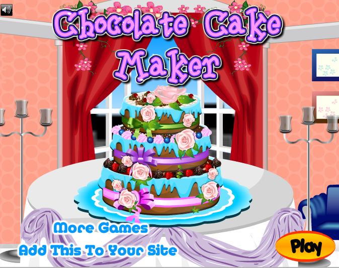 Изображение из игры Приготовление торта