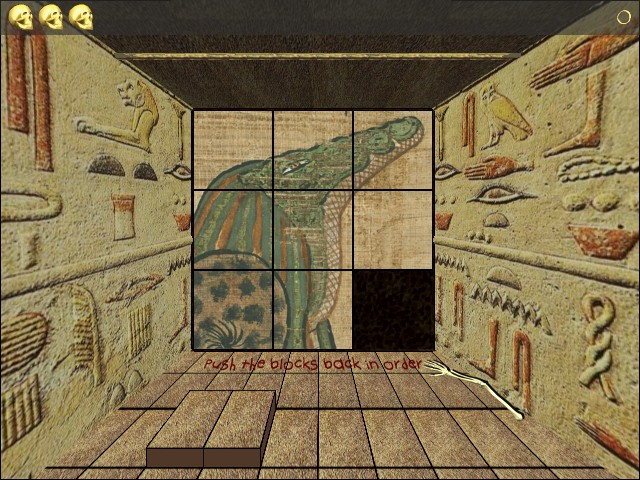 Изображение из игры Выход из Пирамиды