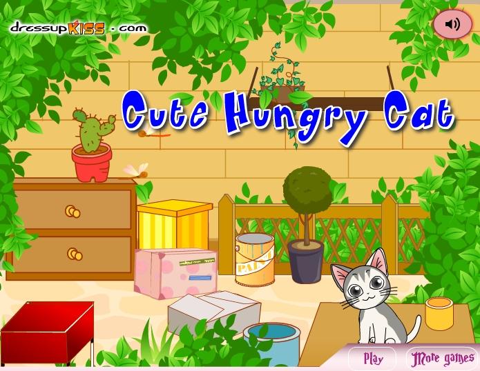 Игра голодный кот