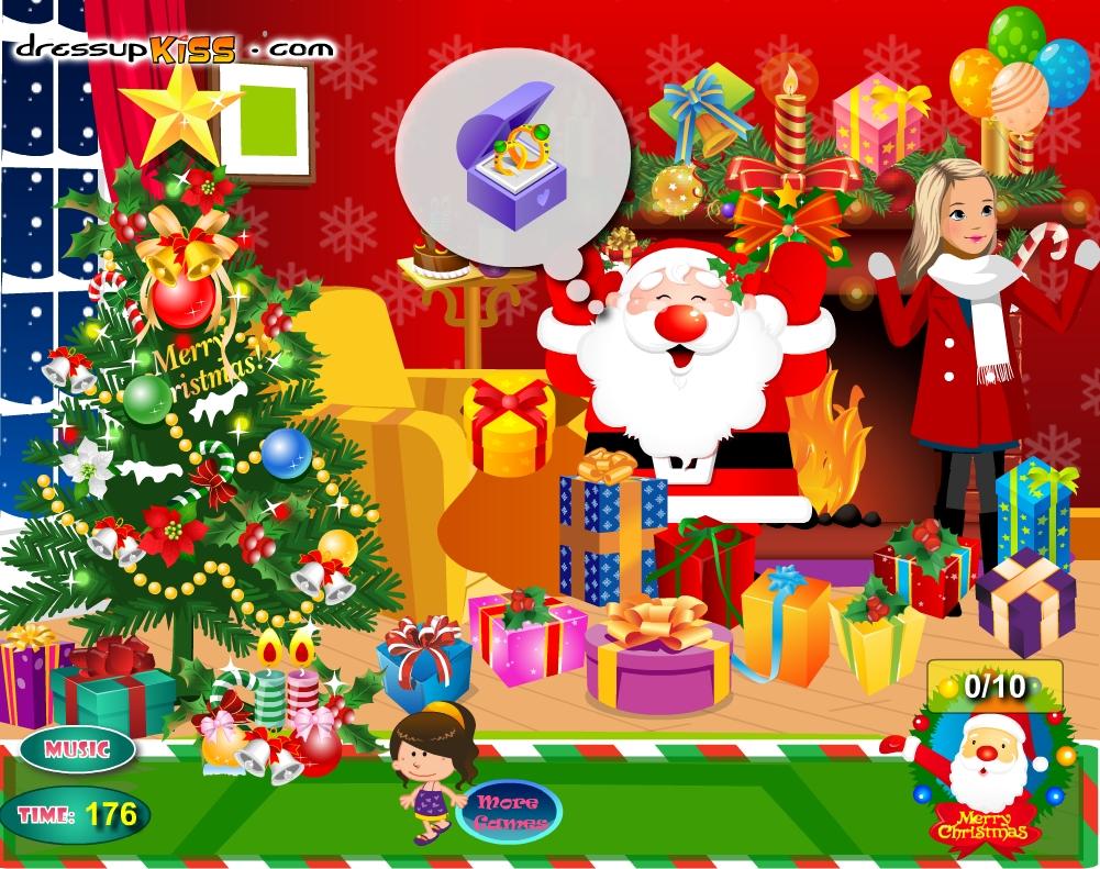 Рождественские подарки играть 13
