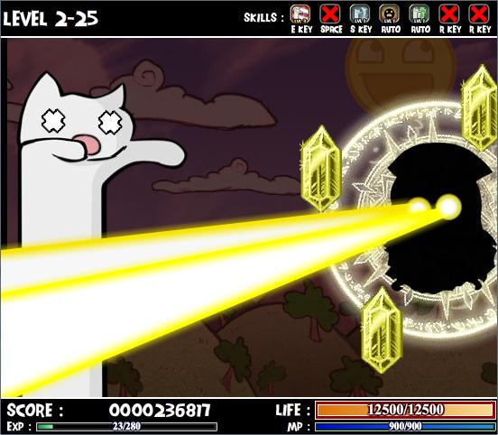 Изображение из игры Кэтнарок 2: Неистовство кота