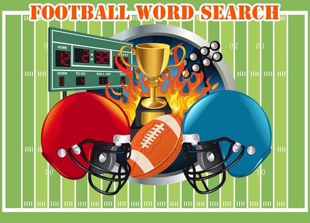 Изображение из игры Поиск слов: Американский футбол