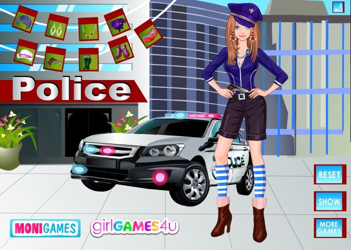 Изображение из игры Одевалка: Полиция