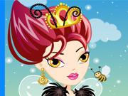 Изображение из игры Одевалка: Королева Барби