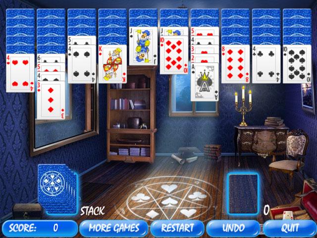 Изображение из игры Пасьянс: Волшебная комната