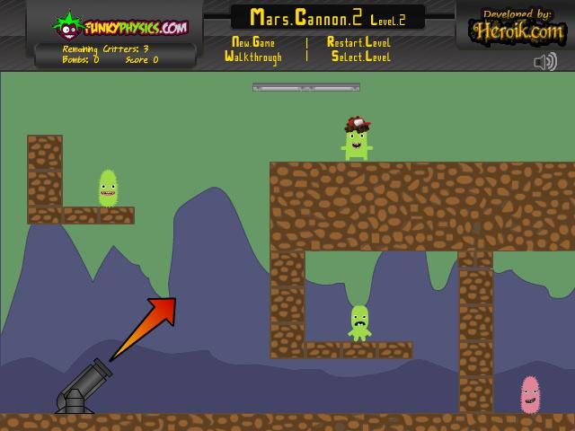 Изображение из игры Марсианская пушка 2
