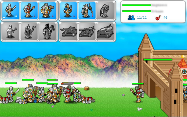 Screens Zimmer 6 angezeig: medieval strategy game