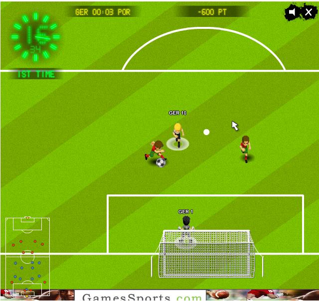Изображение из игры Футбол: Евро 2012