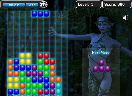 Игры сексуальный тетрис