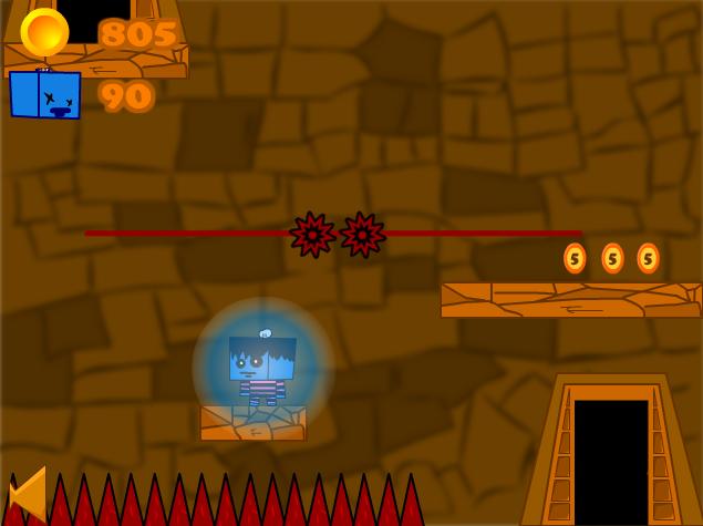 Изображение из игры Квадратный парень