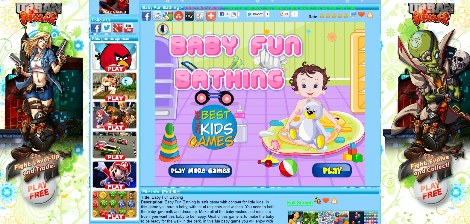 fun baby games