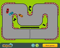 Изображение из игры Скоростная гонка