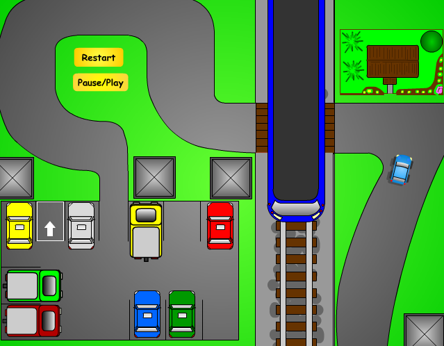 игра парковка 7