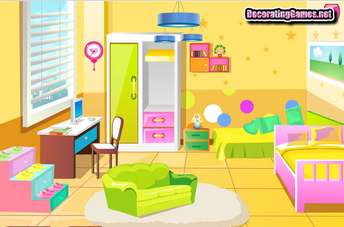 Играть дизайн комнаты