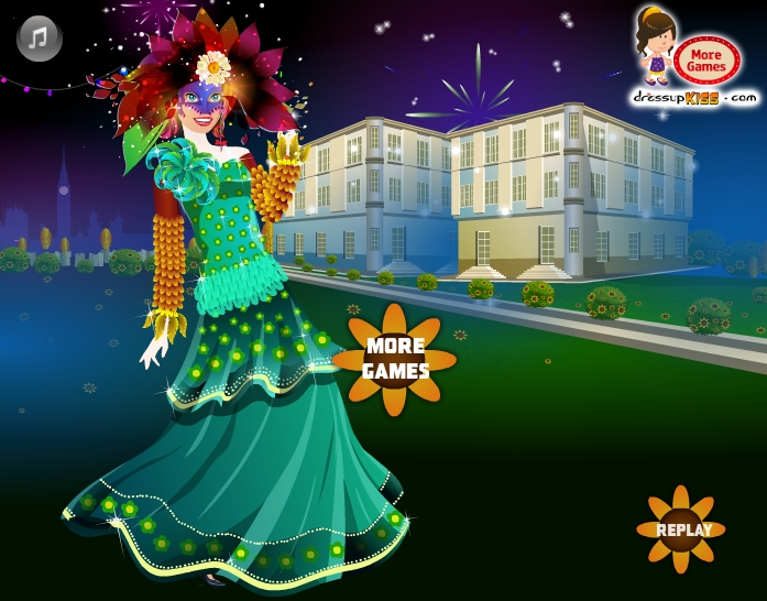 Изображение из игры Одевалка: Карнавал