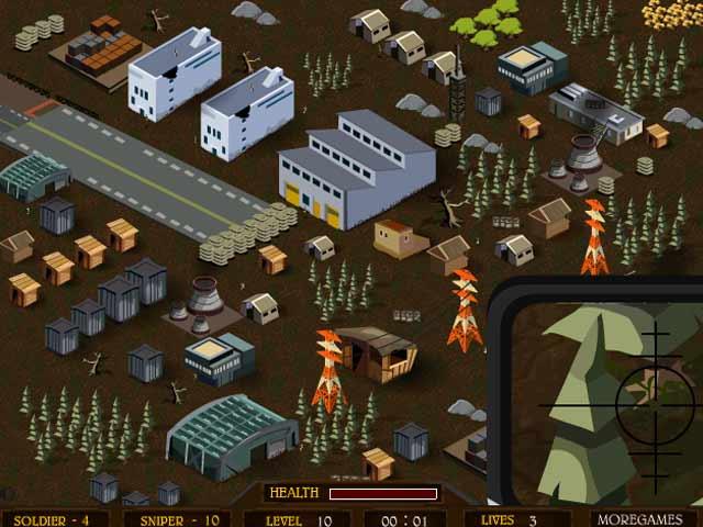 Изображение из игры Sniper Operation 2