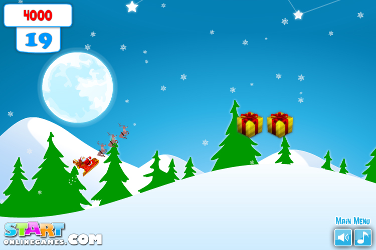Изображение из игры Санта
