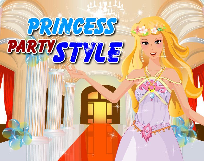 Одевалка платья для принцессы
