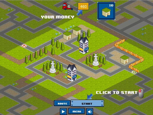 Автомат деревня игровой