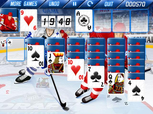 Изображение из игры Пасьянс: Ледяные карты