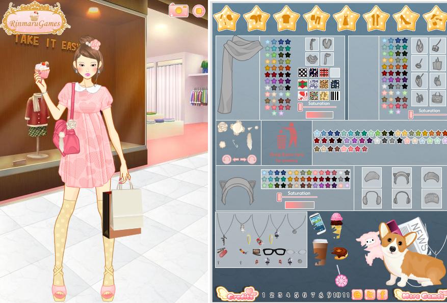 Игры для девочек одевалки по модному 186