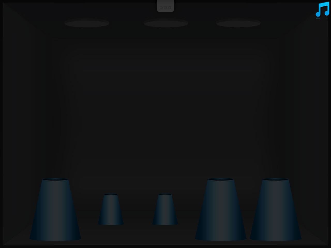 Изображение из игры Наперстки