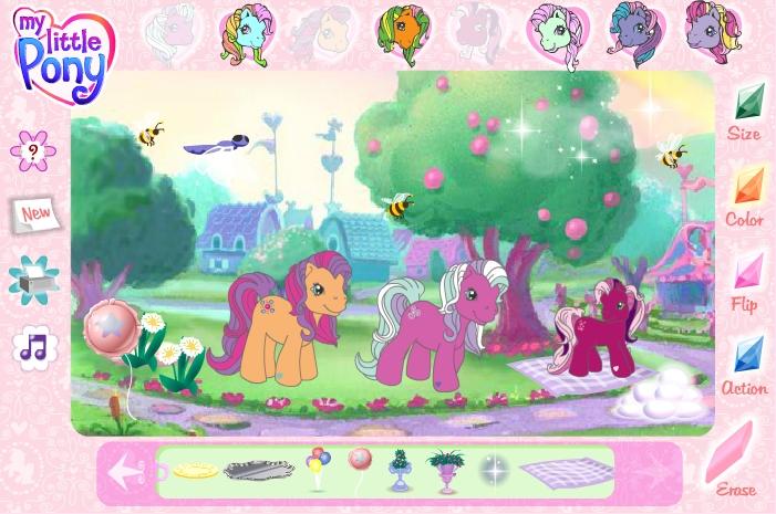 игры создай своего пони с знаком