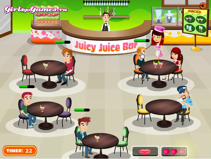 free online games restaurant management