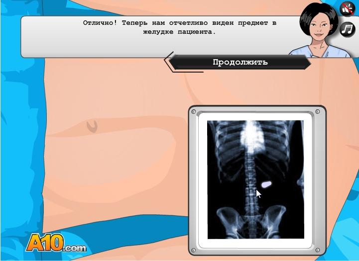 игры виртуальная хирургия операция на языке