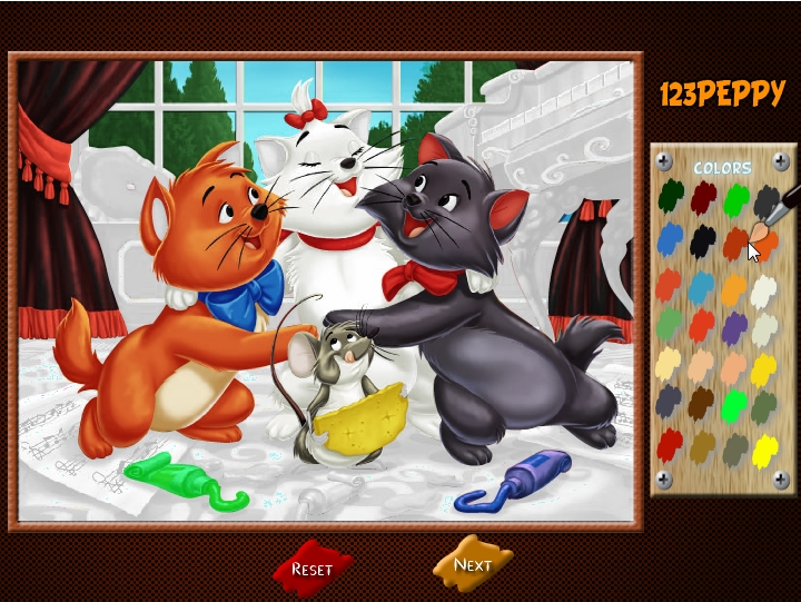 Игры с котами аристократами