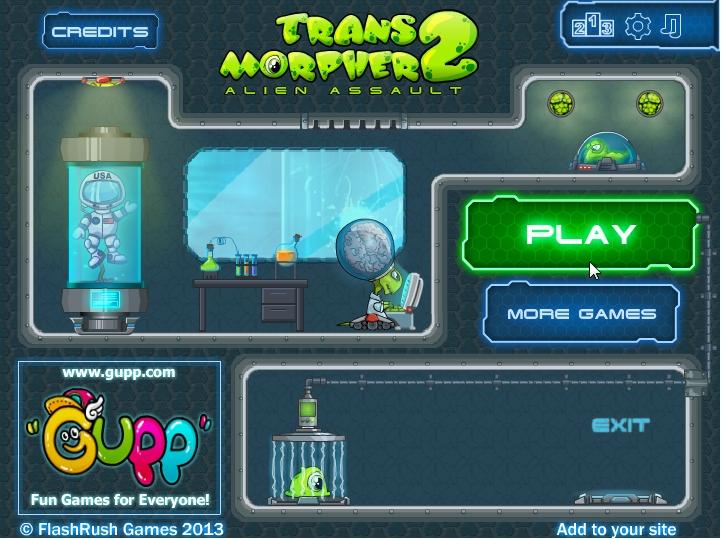 Трансморфер 2 - Пришелец