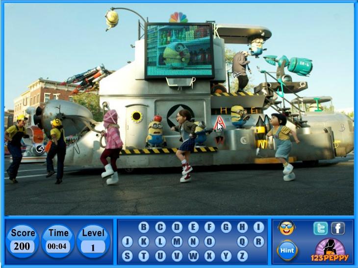 Игры: Гадкий Я ~ играть онлайн на Mult-Igry com