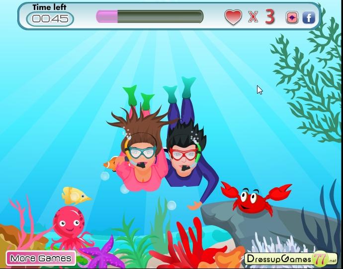 игры гонки рыбы