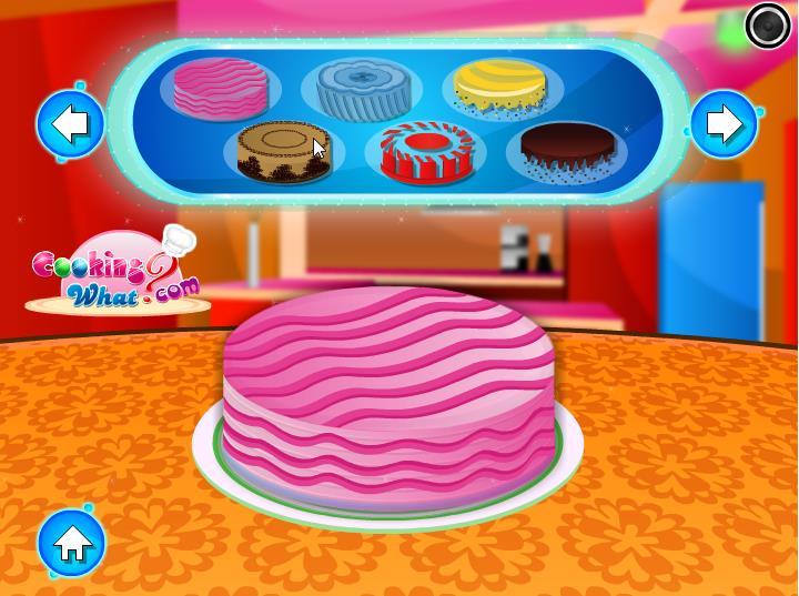 украшать торт игра