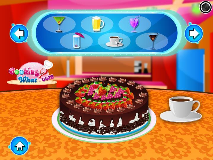 Украшение торта с фруктами cake with fruits